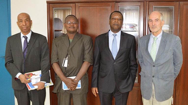 Audience accordée par SEM le Haut Représentant de l'Union Africaine pour le Mali et le SAHEL (MISAHEL) à une équipe de Consultants des Nations unies.
