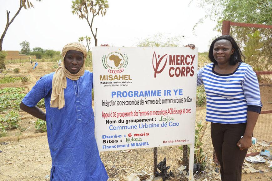 Financement de projet des femmes Ire Yé par la MISAHEL