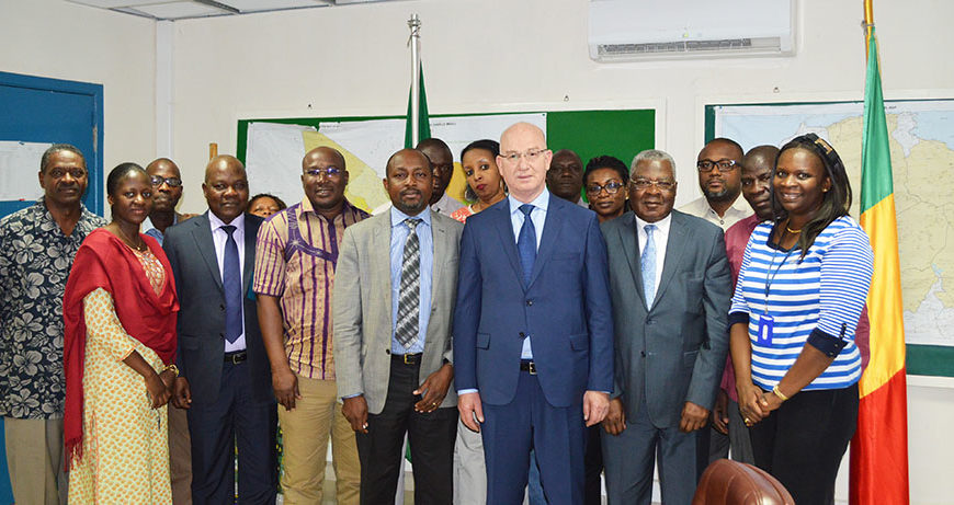 Ambassadeur Smail Cergui visite la MISAHEL à Bamako – 9 février 2017 | Bamako, Mali