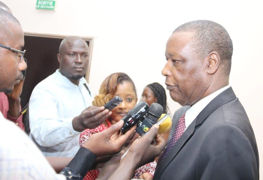 Conférence de presse du Haut Représentant de l'UA et Chef de la MISAHEL, SEM Pierre Buyoya