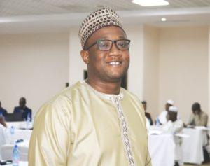Mamadou, notre Point Man pour ce séminaire. Bravo!