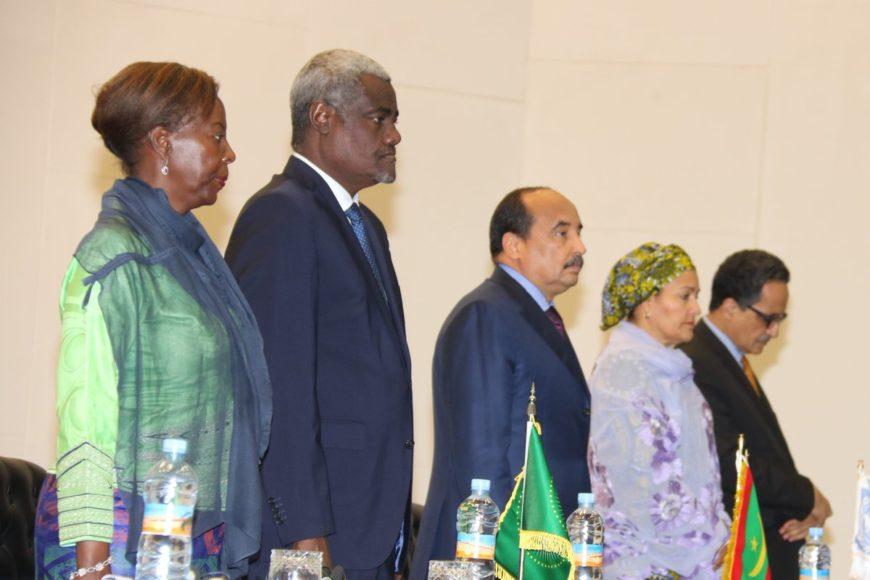 L'UA organise à Nouakchott une réunion consultative stratégique sur le Sahel