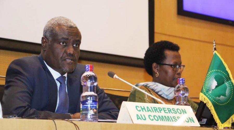 Le Président de la Commission de l'UA, Moussa Faki Mahamat