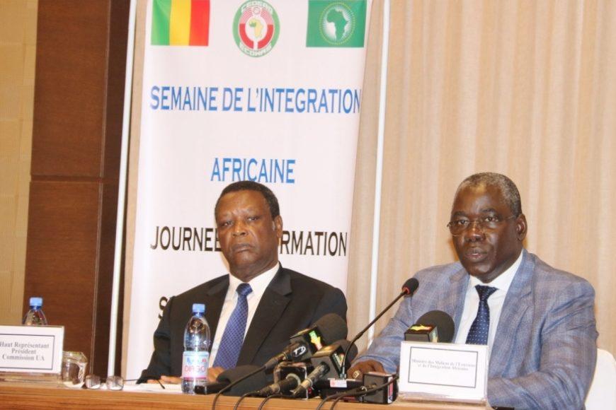 Journée de l'Afrique 2018: Conférence sur les Réformes de l'UA et la Zone de Libre Echange Continentale (ZLECaf), Hôtel Sheraton, Bamako, le 24 mai 2018