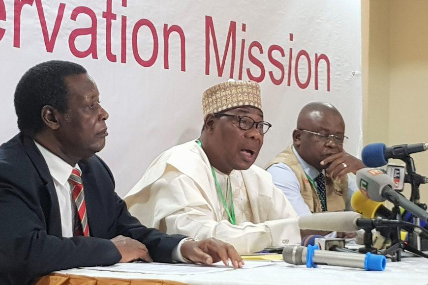DÉCLARATION PRÉLIMINAIRE DE LA MISSION D'OBSERVATION ÉLECTORALE DE L'UNION AFRICAINE POUR L'ÉLECTION PRÉSIDENTIELLE DU 29 JUILLET 2018 EN RÉPUBLIQUE DU MALI