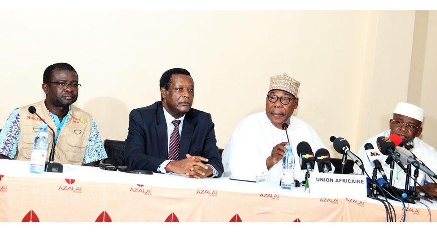 Déclaration préliminaire de l'Union africaine sur le 2ème tour de l'élection présidentielle au Mali, le 12 août 2018