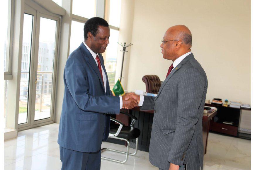 Le Haut Représentant de l'UA pour le Mali et le Sahel reçoit le Président de la Commission de la CEDEAO