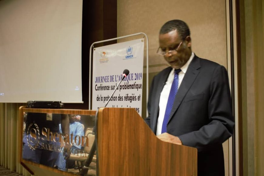 Conférence dans le cadre des activités commémoratives de la journée de l'Afrique célébrée le 25 mai
