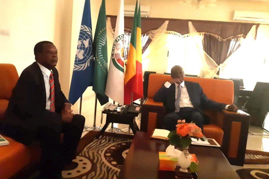 SEM HR reçu par le Ministre des affaires étrangères et de la coopération internationale du Mali ce 21 mai 2019