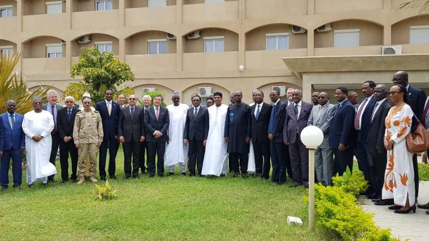 La Vll ème réunion ministérielle à N'Djamena, le vendredi 05 avril 2019.