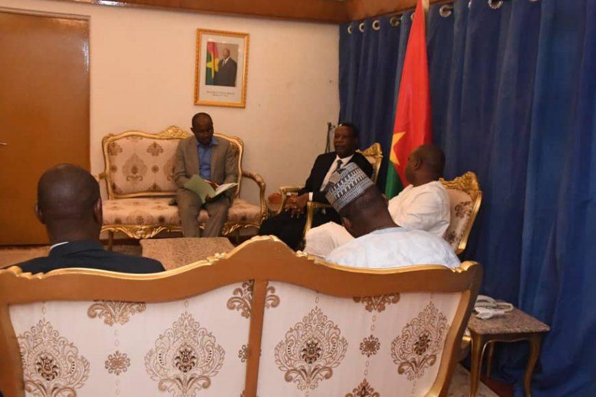 Rencontre du Haut Représentant avec le Ministre des Affaires Étrangères et de la Coopération Internationale du Burkina Faso, SEM Alpha BARRY