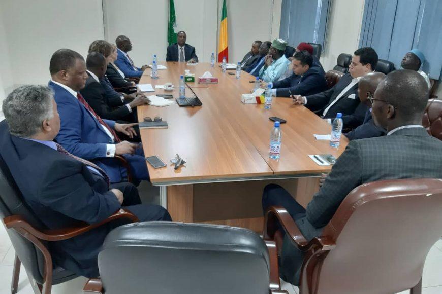 La  mission conjointe Commission de l'Union africaine / partenaires financiers a rencontré les ambassadeurs  africains accrédités au Mali.