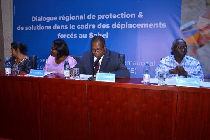 Dialogue régional de protection et de solutions dans le cadre des déplacements forcés au Sahel.