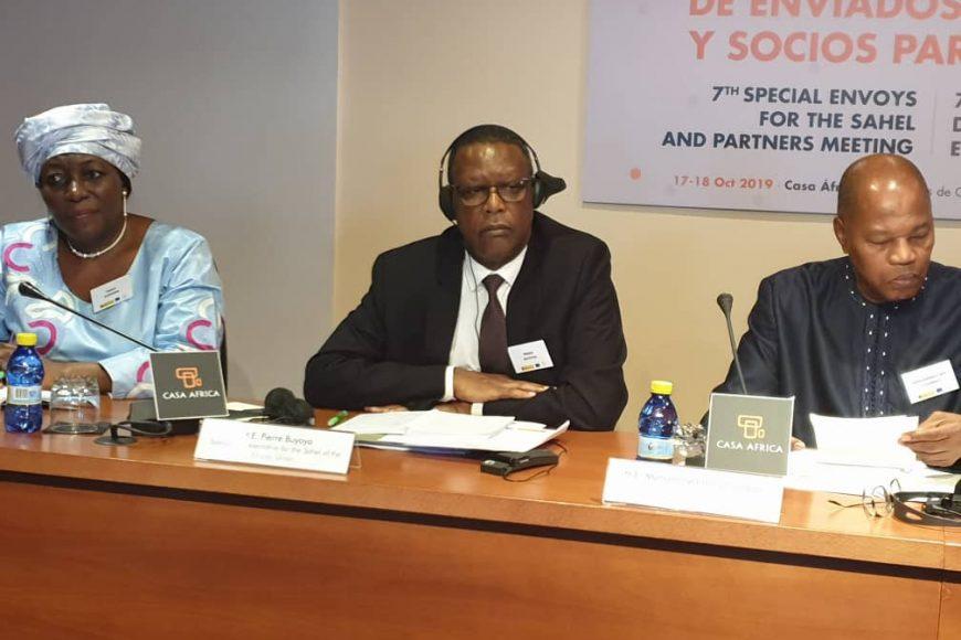Le HR SEM Pierre Buyoya à Las Palmas à la 7è réunion des envoyés spéciaux au Sahel