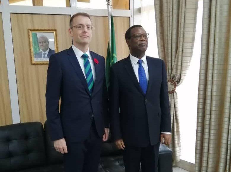 Visite de courtoisie de l'Ambassadeur du Canada au Haut Représentant de la MISAHEL