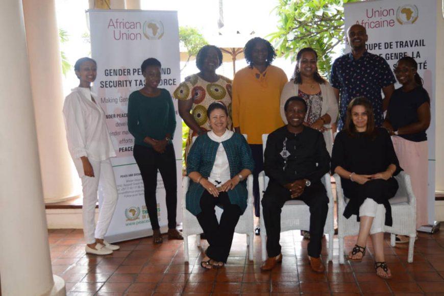 La MISAHEL a participé les 8 et 9 novembre 2019 a Zanzibar en Tanzanie , à la retraite annuelle du groupe de travail sur le genre, la paix et la sécurité  du département paix et sécurité de l'Union africaine.