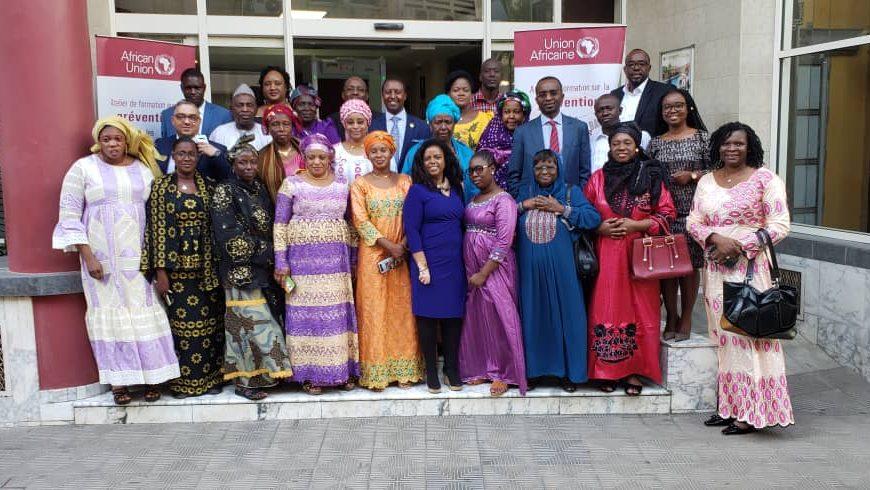 l'Union africaine organise un atelier de renforcement des capacités des institutions du Mali