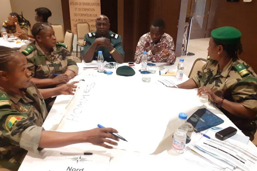 Des experts ont outillé des formateurs Genre-RSS à Sheraton-Bamako-(17-18 mars 2020)