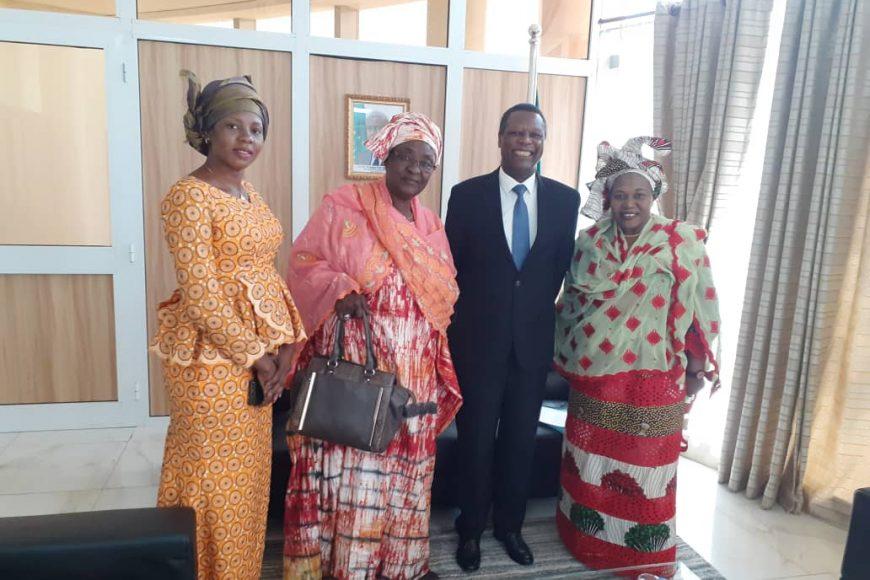 SEM Pierre Buyoya a reçu en audience la délégation du CCFP – (5 mars 2020)