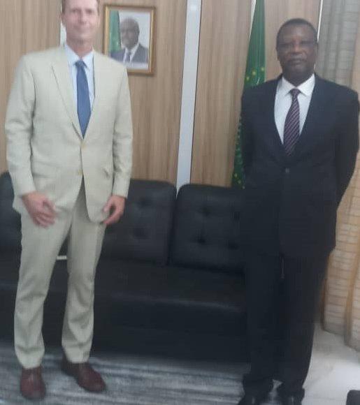SEM Pierre Buyoya a reçu en audience le nouvel Ambassadeur du Danemark au Mali