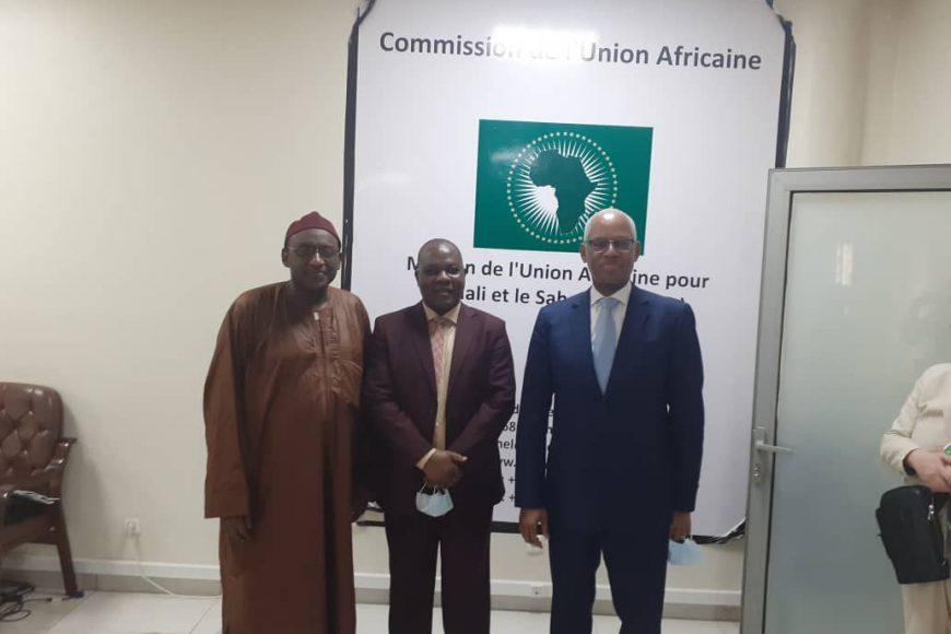 Visite à la MISAHEL de Son Excellence M. El- Ghassim Wane , Représentant Spécial du Secrétaire Général des Nations Unies au Mali, Chef de la MINUSMA et M. Hamidou Boli , Représentant Spécial du Président de la Commission de la CEDEAO au Mali