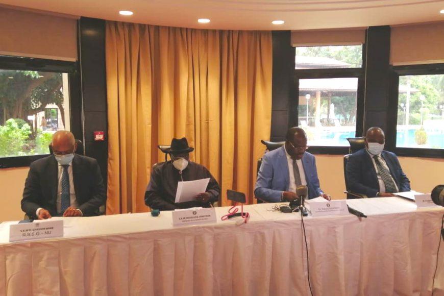 Le chef de mission par intérim de la MISAHEL M. Fulgence Zeneth a représenté l'Union africaine lors de la mission du Médiateur de la CEDEAO sur le suivi de la transition au Mali du 9 au 13 mai 2021