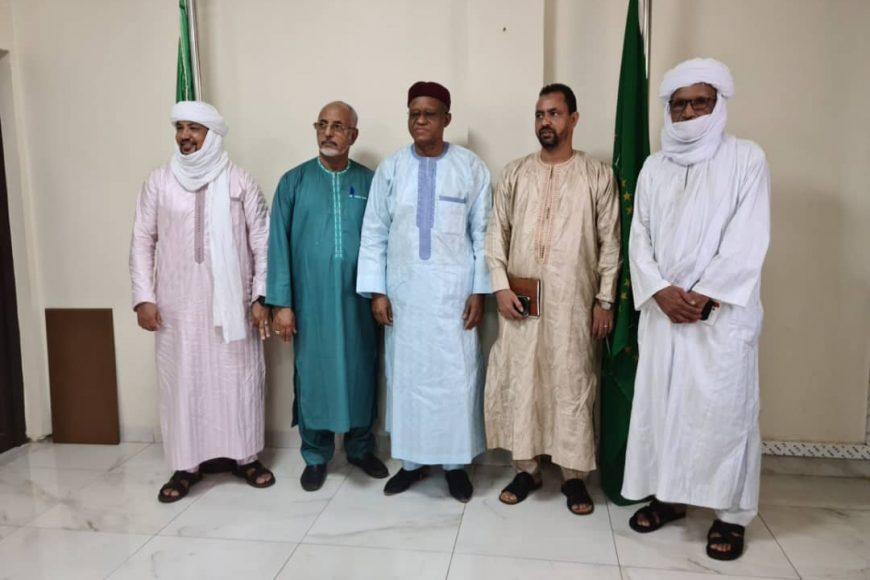 Le Haut Représentant de l'Union africaine pour le Mali et le Sahel a reçu en audience la délégation de la Coordination des mouvements de l'azawad