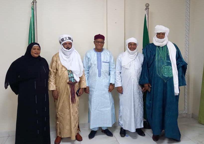 Rencontre du Haut Représentant du l'Union africaine pour le Mali et le Sahel avec la plateforme des mouvements signataires