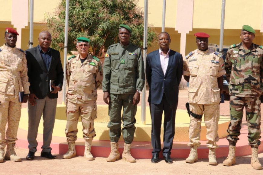 Visite du Haut Représentant de l'UA à Mopti et Sévaré