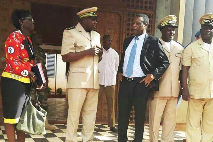 Visite du Chef de la MISAHEL à Mopti