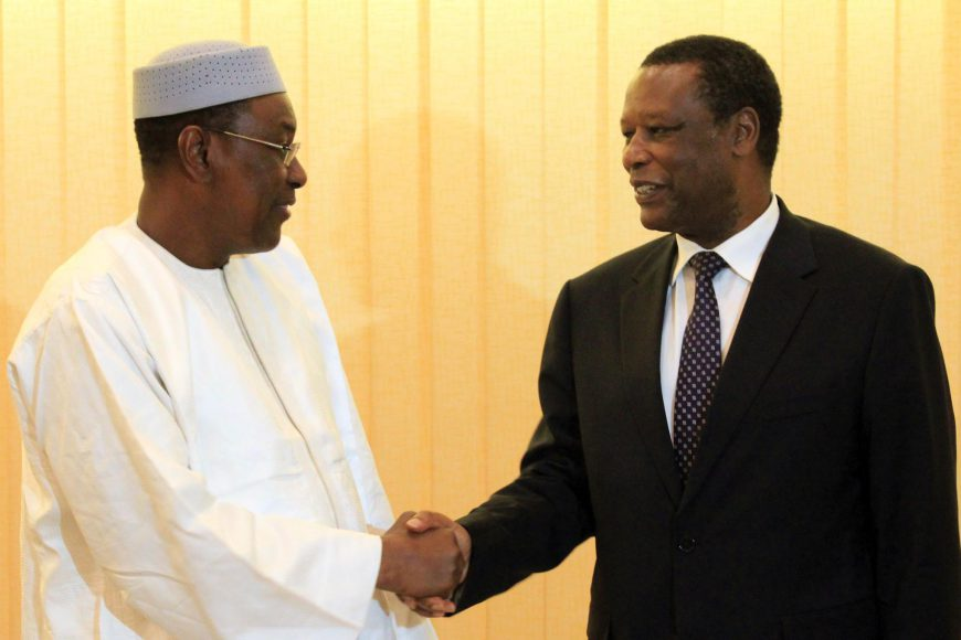 Audience du Premier Ministre du Mali au HR de l'Union africaine