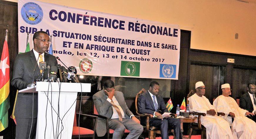 Conférence régional sur la situation sécuritaire dans le Sahel et en Afrique de l'ouest