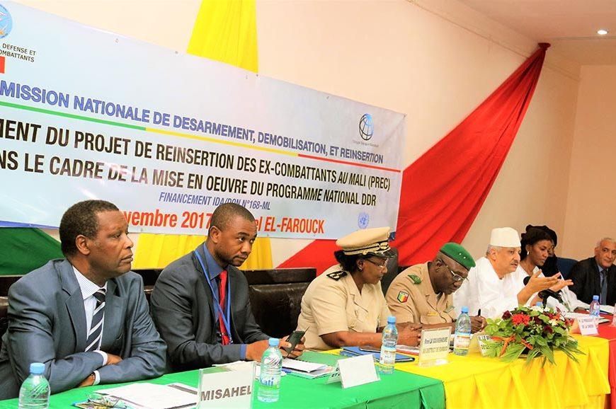 Lancement du projet de Réinsertion des ex-combattants au Mali