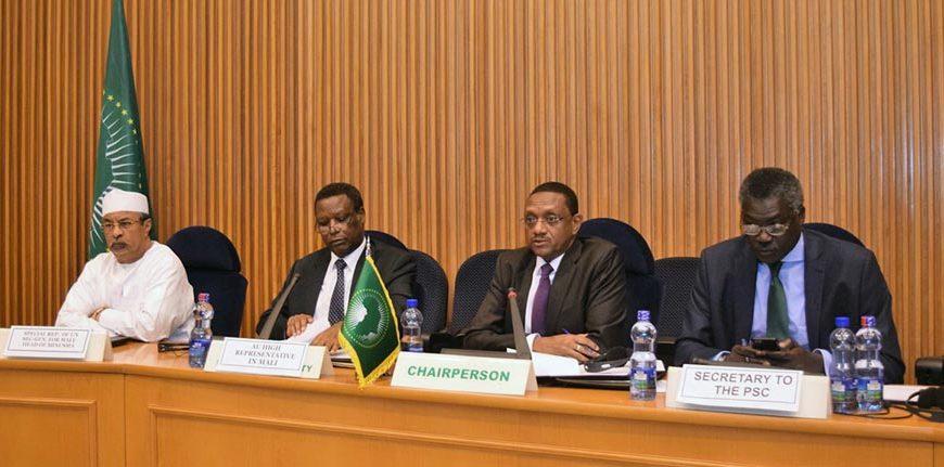 Présentation du Rapport de la MISAHEL au CPS | 20 Novembre 2017, Addis Abéba