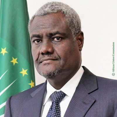 H.E. Moussa Faki Mahamat  Chairperson of the AU Commission