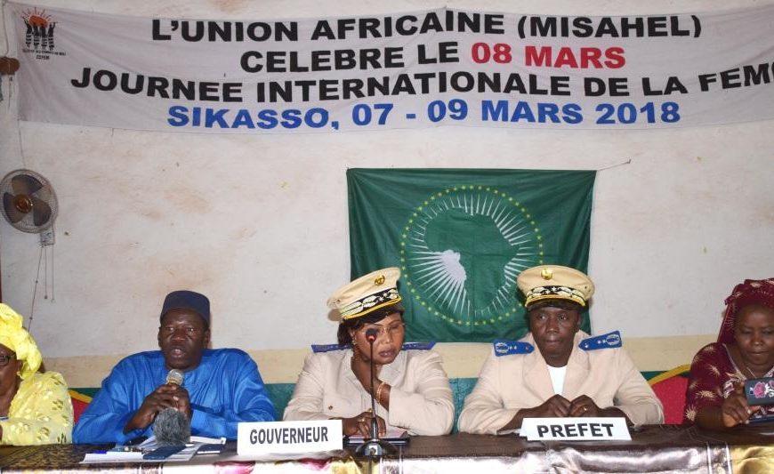 L'UA célèbre la Journée internationale de la femme avec les femmes maliennes à Sikasso