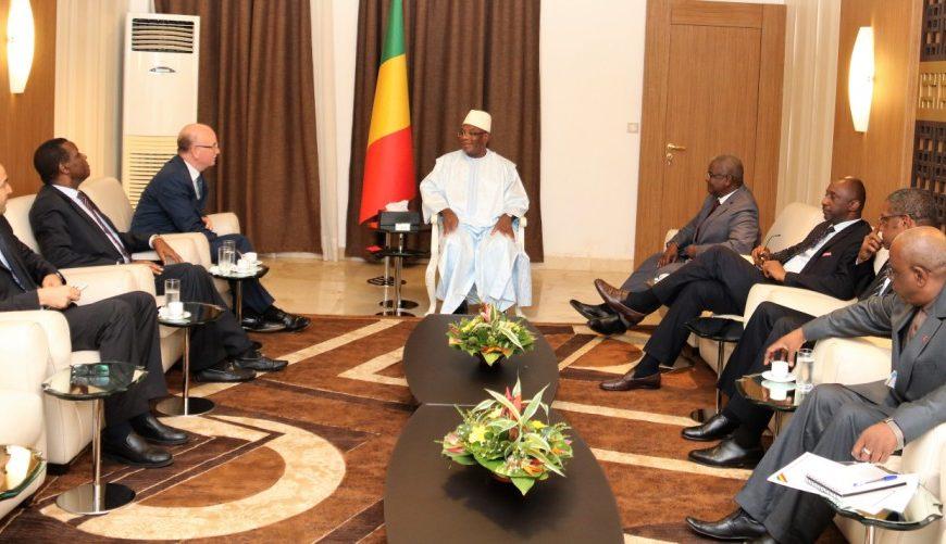 Le Commissaire à la Paix et à la Sécurité de l'Union africaine reçu par le Président de la République du Mali