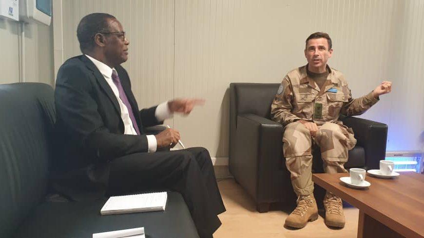 Le Général Dennis GYLLENSPORRE,  Force commander de la MINUSMA a reçu le Haut Représentant chef de la MISAHEL