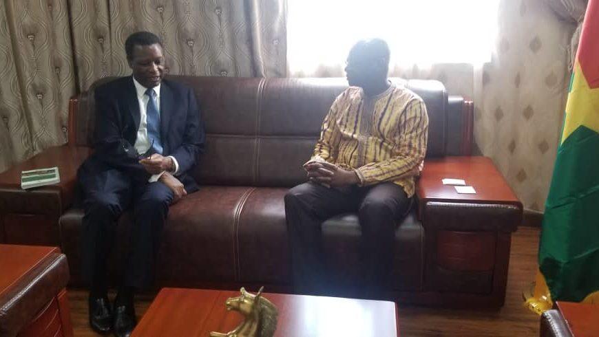 Du 6 au 10 Août 2019 , le SEM le haut Représentant a effectué une visite d'information au Burkina Faso.