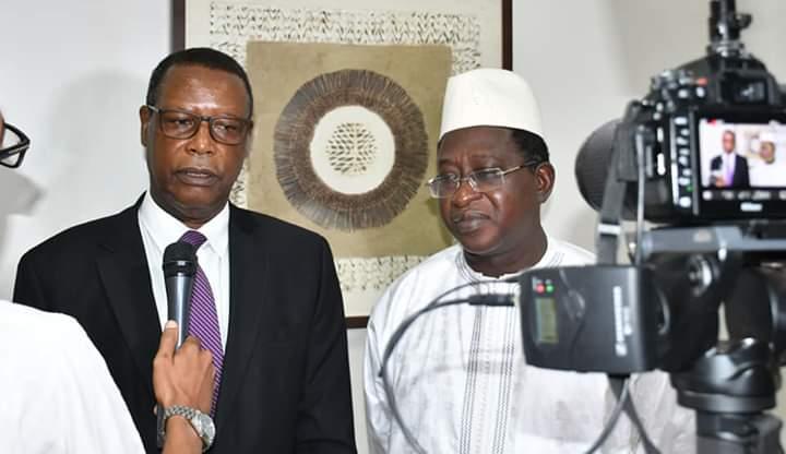 SEM le Haut Représentant de l'Union africaine au Mali ( MISAHEL) a rencontré le Chef de l'opposition M. Soumaïla Cissé