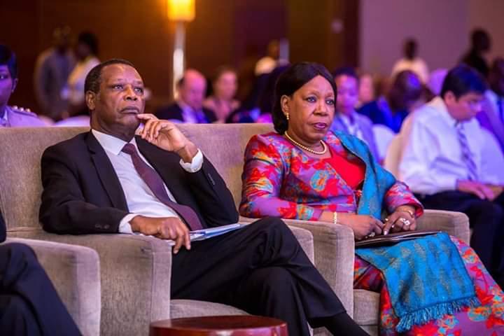 Le Président Buyoya HR du Président de la CUA au Mali et au Sahel a participé activement au Forum paix et sécurité organisé par KAIPTC