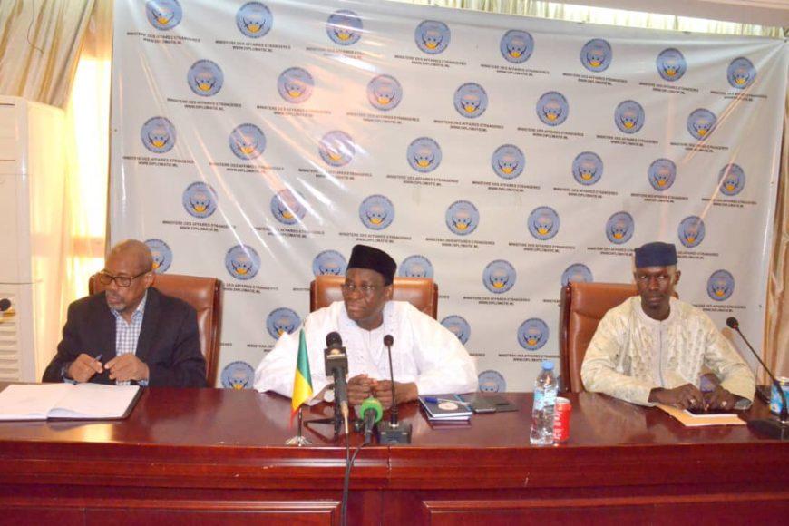 La MISAHEL , Mission de l'Union africaine pour le Mali et le Sahel a participé à la rencontre d'information du corps diplomatique sur le dialogue politique national
