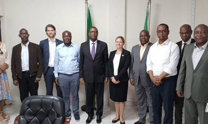 SEM Haut Représentant de l'Union Africaine pour le Mali et le Sahel (MISAHEL) a reçu en audience la mission conjointe Commission de l'Union africaine / partenaires financiers