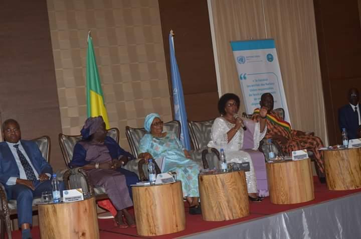 Table ronde de haut niveau  sur la problématique du financement de l'égalité Genre dans le CREDD et les ODD au Mali