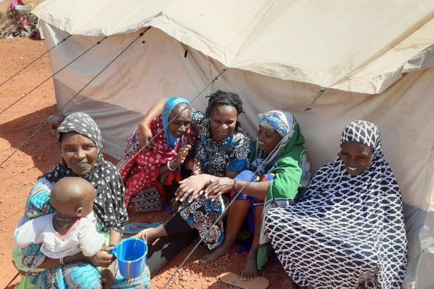 Une équipe de la MISAHEL en mission à Mopti rencontre les déplacés