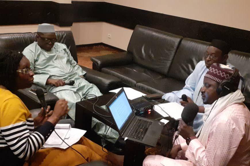 Une émission débat a été organisée par la Radio des Nations Unies au Mali , MIKADO FM en marge de la conférence.