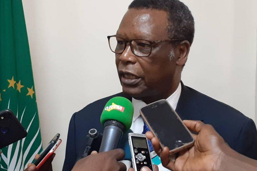 L'Union africaine pour le dialogue des autorités du Mali avec les groupes armés. (18-février-2020)