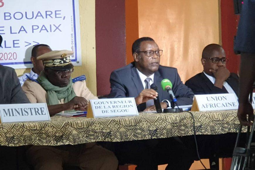 Le HR du président de la Commission de l'Union africaine participe à l'atelier de validation du plan stratégique DDR-Intégration 2019-2023 -(03/Février/2020)