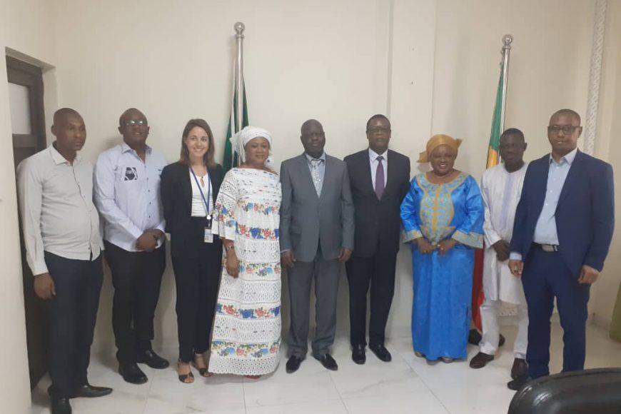 La mission conjointe PNUD-Sénégal et l'ALG reçue par SEM Pierre Buyoya – (17 février 2020)