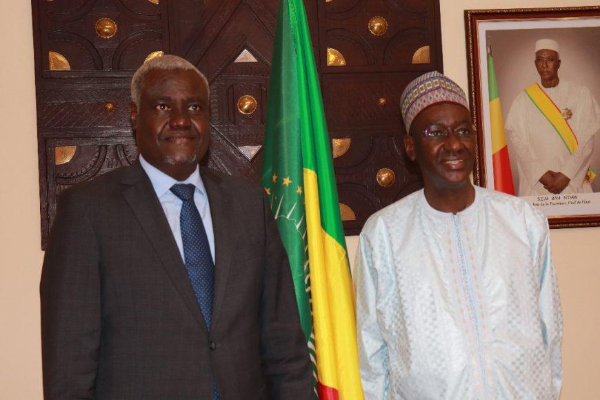 L'Union africaine résolument engagée aux côtés du Mali (18/11/2020)